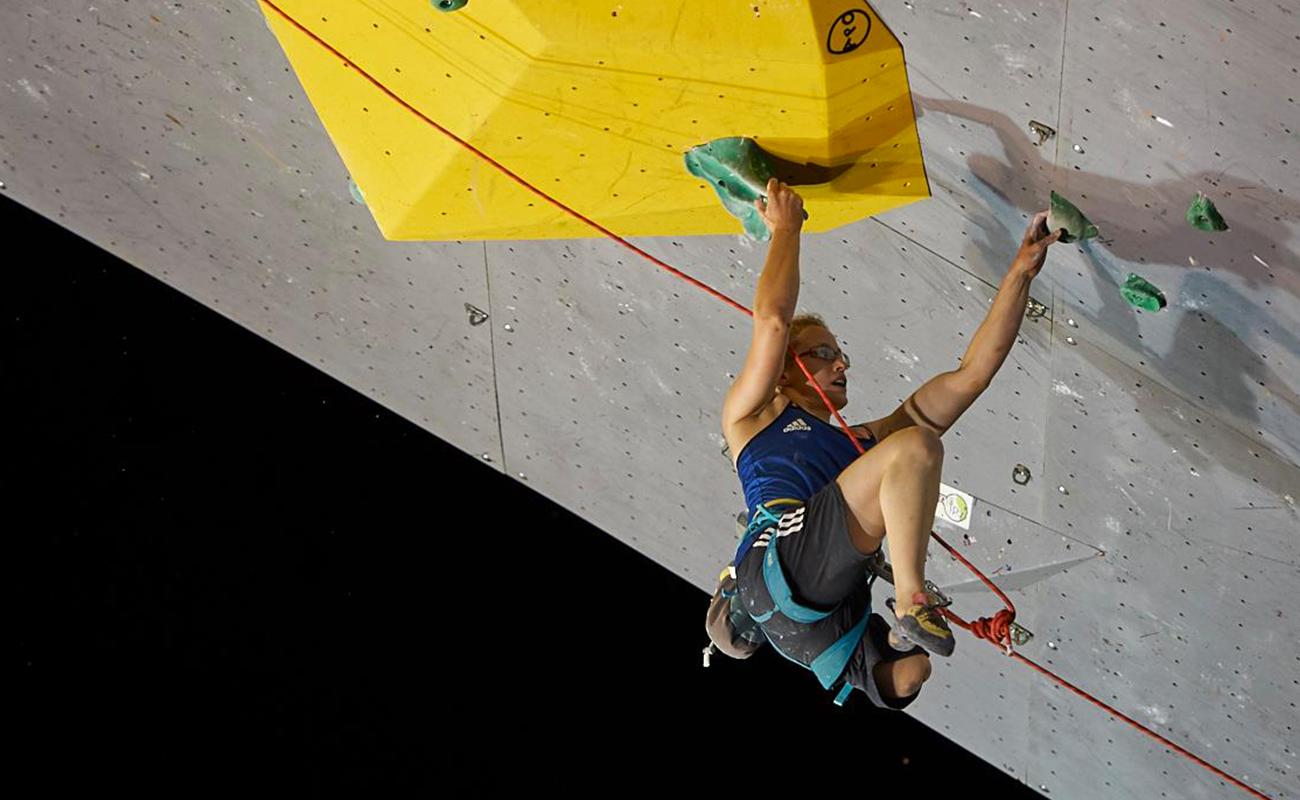 Finale des championnats du monde handi-escalade IFSC de Briançon