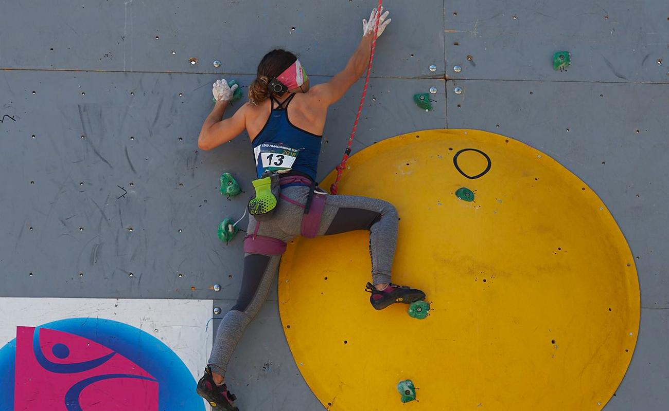 qualification des championnats du monde handi-escalade IFSC de Briançon